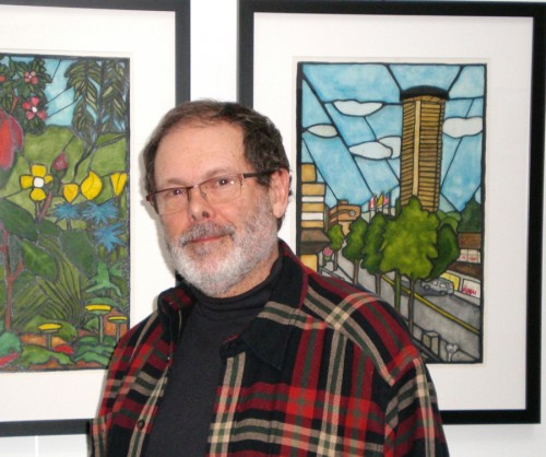 Rothschild's watercolors at Zack Gallery