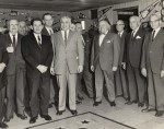 photo - State of Israel Bonds parlor meeting, men's group, Vancouver, B.C., 1964.
