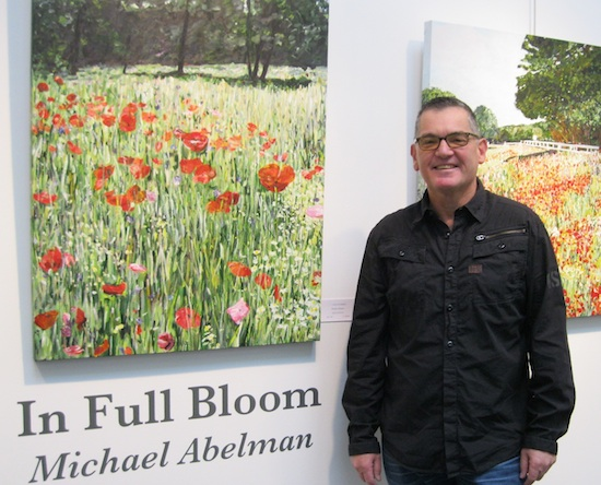 Michael Abelman art bright, optimistic