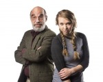 photo - Richard Newman and Pippa Mackie in The Grandkid