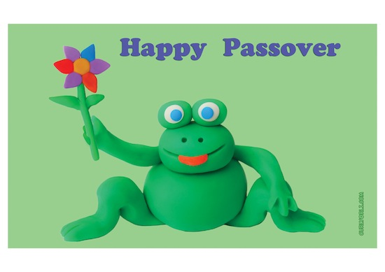 Springtime frogs for Pesach