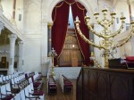 photo - Inside Bordeaux's Grand Synagogue of the Gironde.