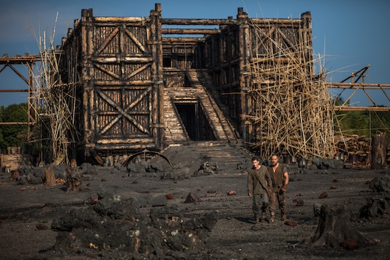 photo - Noah's Ark in the film Noah