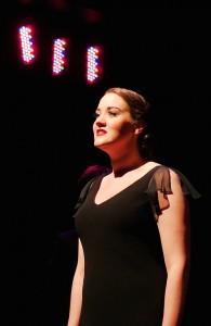 photo - Rebecca Friesen as Sally Bowles.