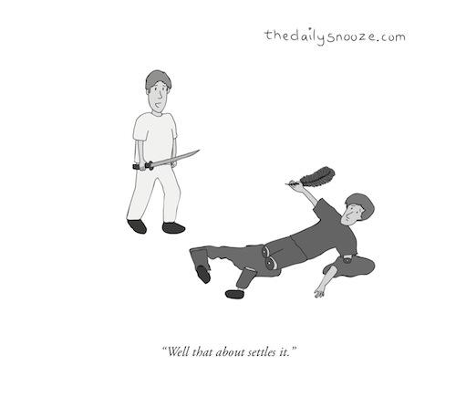 This week's cartoon … April 4/14