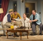 photo - Andrew McNee as Oscar Madison and Robery Maloney as Felix Ungar