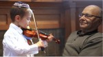 Yosef Nider's debut violin concert is in honor of his Zaida