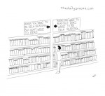 cartoon - Books you'd like to be seen reading....