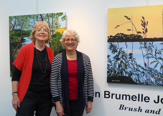 An organic connection – artists Karen Brumelle and Joanne Waters