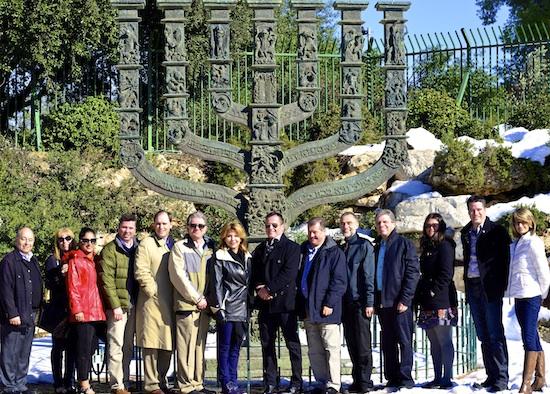 Surrey Mayor Dianne Watts visits Israel