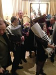 "Czech Torah ""family reunion"" in London"