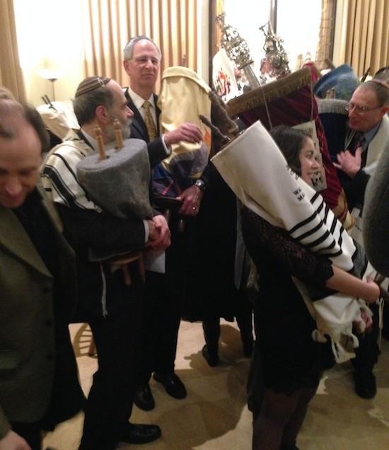 "Czech Torah ""family reunion"" in London"