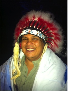 photo - Sundance Chief Rueben George of Tsleil-Waututh Nation