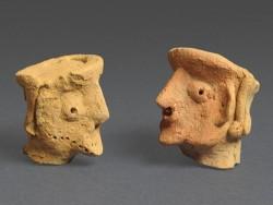 photo - artifacts from Tel Motza excavation