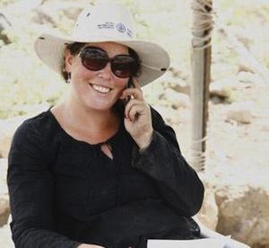 photo - archeologist Shula Kisilevitz