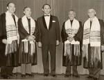 photo - Cantor Herskovits and Schara Tzedeck Choir, Vancouver, 1955.