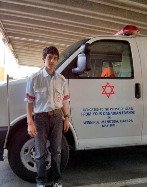 Winnipeg gives ambulance to Israel