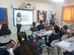 photo - A smart classroom in Israel that uses technology and expertise provided by ORT