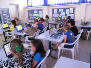 photo -  ORT Israel has developed a successful program in schools around Israel's physical and socio-economic periphery, bringing cutting-edge educational technology into the classroom