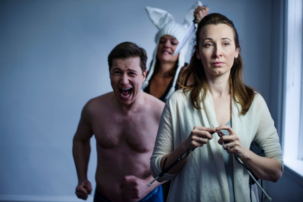 photo - White Hot is on stage at Shop Theatre until May 17.