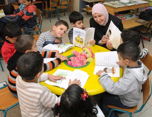 PJ Library launches Lantern Library for Arab Israeli kids