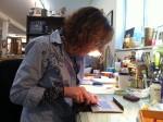 Robin Atlas' Lashon Hara exhibit at the Zack offers artistic midrash