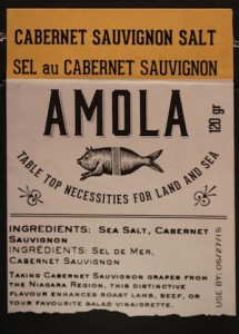 photo - Use Amola flavor-infused sea salt from the Edible Canada retail story and your guests will think you've slaved away over dinner with special ingredients.