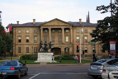 photo - Constructed between 1843 and 1847, Province House is Canada's second-oldest legislature building and it is still in use, as the home of the Prince Edward Island House of Assembly
