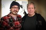 photo - Director Alan Zweig, rigt, and Marc Maron