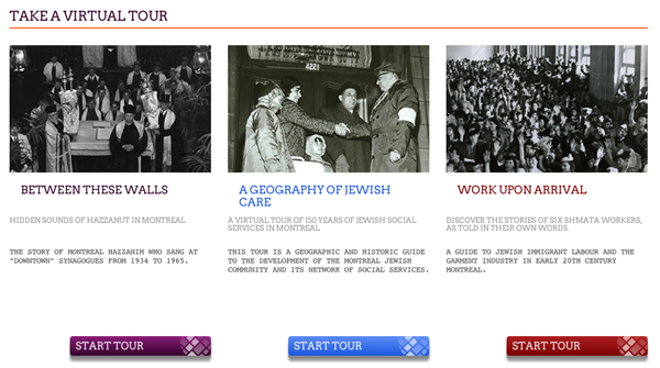 Take a virtual tour of Jewish Montreal