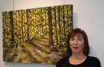 Melanie Fogell's paintings inspire imagination