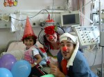 Healing effects of medical clowns