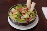 Assortment of salads for summer