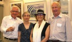 photo - Left to right: Simon Bonettemaker, Hinda Avery, Claire Cohen and Colin Nicol-Smith