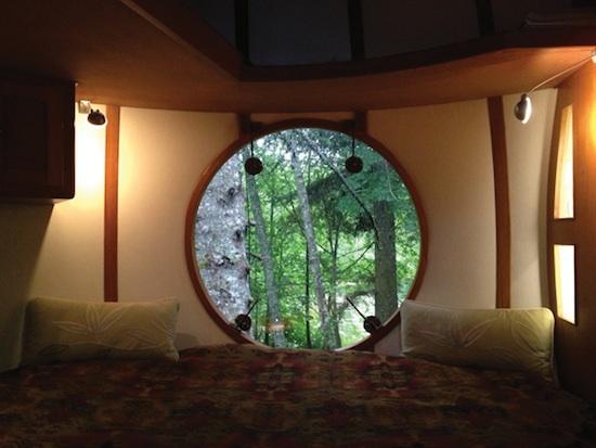 photo - Having a ball: The Free Spirit Spheres near Qualicum Beach provide hotel room comfort 15 feet in the air