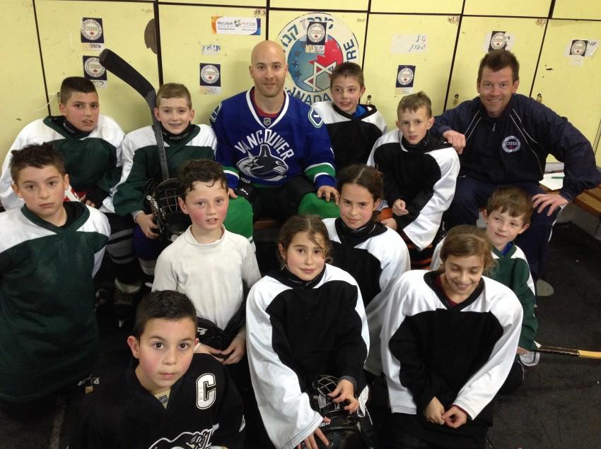 Hockey brings peace in Israel