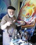 Mordechai Edel exhibits tapestries of light on canvas
