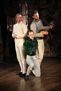 photo - From left to right, Shawn Macdonald, Anton Lipovetsky and Benjamin Elliott in Cymbeline