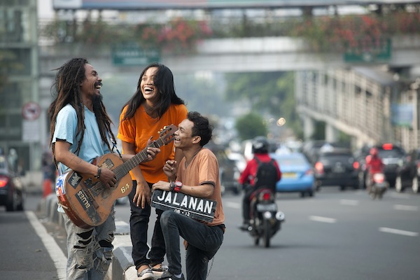 photo - Of the 12 million people living in Indonesia's capital city, some 7,000 earn their living as buskers, according to the film, and Jalanan follows the lives of three of them – Boni, Ho and Tuti – over a five-year period.