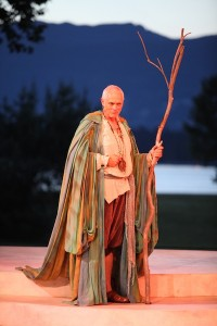 photo - Allan Morgan as Prospero in The Tempest