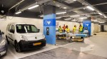 photo - The parking lot at the Rambam Health Care Campus is a dual-purpose facility capable of converting into a fortified 2,000-bed underground hospital in times of conflict