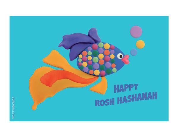 Make a fish for Rosh Hashanah