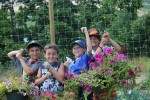photo - Gardening is just one of the new activities keeping kids engaged on land at Camp Hatikvah