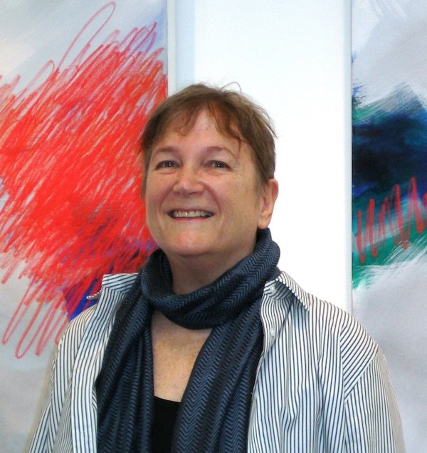 Joyce Ozier's explosive colorful expression