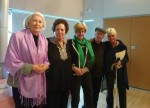 photo - At the recent Jewish Seniors Alliance of Greater Vancouver fall symposium, left to right: Peggy Casey, Lorilee Mallek, Nora Paul, Mark Godfrey and Grace Hann