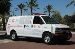 photo - An anonymous contribution helped purchase a Magen David Adom ambulance for Israel in honor of Canadian Prime Minister Stephen Harper's recent trip there