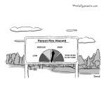cartoon - Forest Fire Hazard by Jacob Samuel