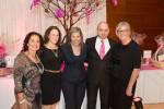 photo - Left to right are Judith Cohen, Rachel Shanken, Alina Spaulding, Ezra Shanken and Diane Switzer
