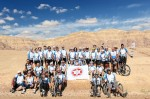 photo - Fifty-four cyclists from Toronto, Vancouver, New Jersey and New York City participated in Beit Halochem Canada, Aid to Disabled Veterans of Israel's annual Courage in Motion bike ride in Israel recently