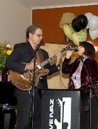 photo - Jazz duo Dave Ivaz and Julie Boton were among the entertainers on Nov. 16.